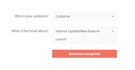 email template maker get inspiration using auto generated templates for to