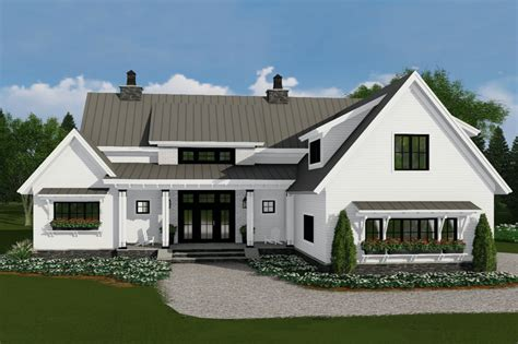 farmhouse floorplans farmhouse style house plan 4 beds 3 5 baths 2528 sq ft plan 51 1130