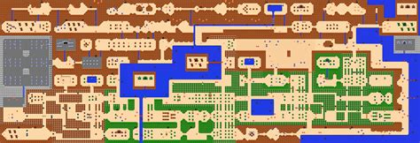 Legend Of Zelda Map Layout | legend of zelda maps ian albert com