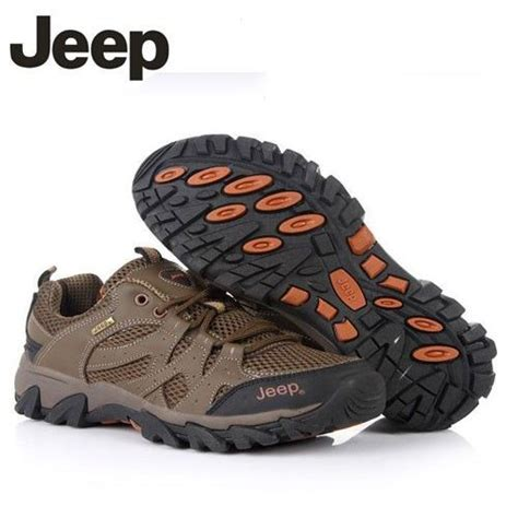 jeep shoes jeep leather outdoor hilking shoes free bonus a pair