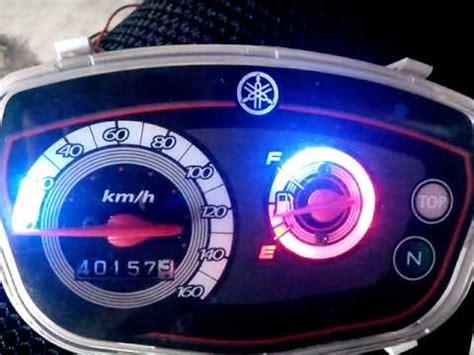 led tachometer yamaha zr