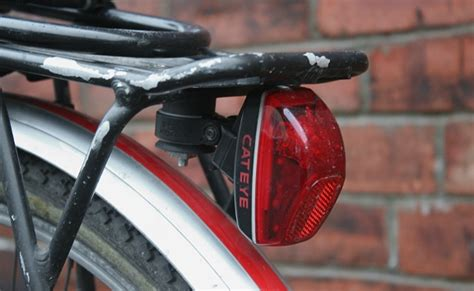 bicycle light rack mount rear light brackets and bodges