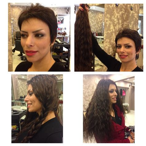 short vs long how to cut hair extensions dkw styling long hair extensions for short hair sach vogue hair