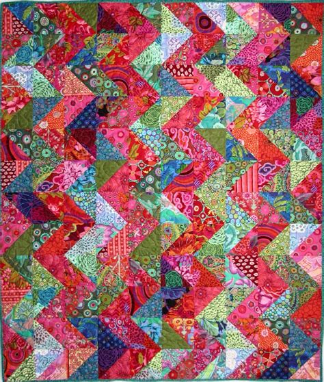 exuberant color exuberant color quilts made with triangles