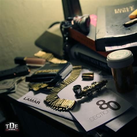 Kendrick Lamar Section 80 Album Cover Track List