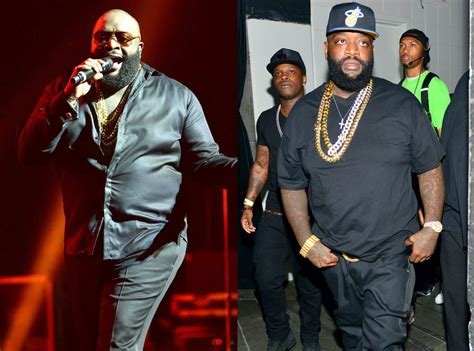 rick ross shows off dramatic weight loss rap up how rick ross dropped over 100 pounds