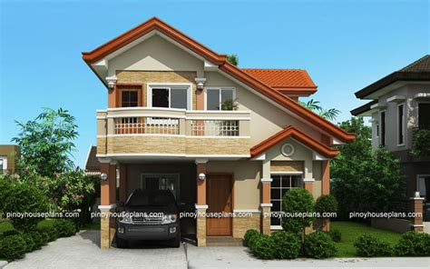 php   storey house plan  balcony pinoy