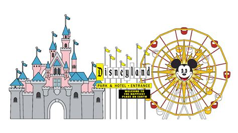 disneyland clipart castle clipart disney land pencil and in color castle