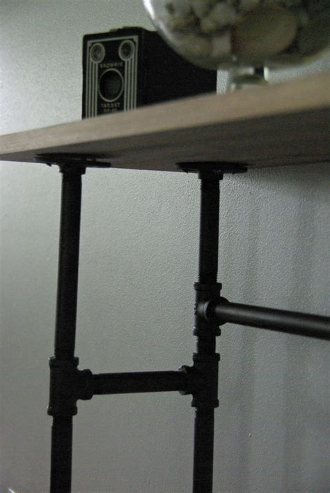 industrial pipe console table how to build a rustic table galvanized pipes
