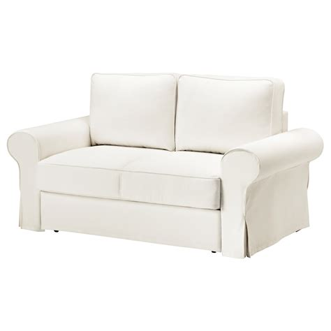 ikea covers backabro two seat sofa bed cover hylte white ikea