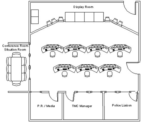 Operating Room Floor Plan Layout by Chapter 14 Page 1 Freeway Management And Operations Handbook