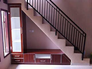 desain lemari tv bawah tangga contoh desain lemari bawah tangga jasa kitchen set murah