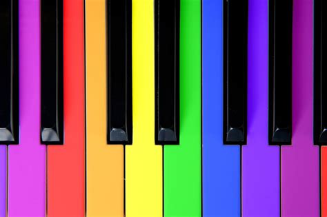 piano color 7 songs that span the spectrum of color from the grapevine