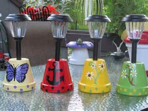 crafts with lights solar light holders made by angela solar lights
