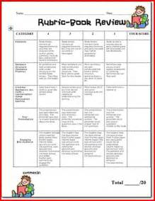 Creative Book Reports For 6th Graders by 6th Grade Book Report Rubric Project Edu Hash