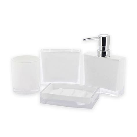 Bed Bath And Beyond Bathroom Accessory Sets Kingston Brass 4 Bathroom Accessory Set Bed Bath Beyond