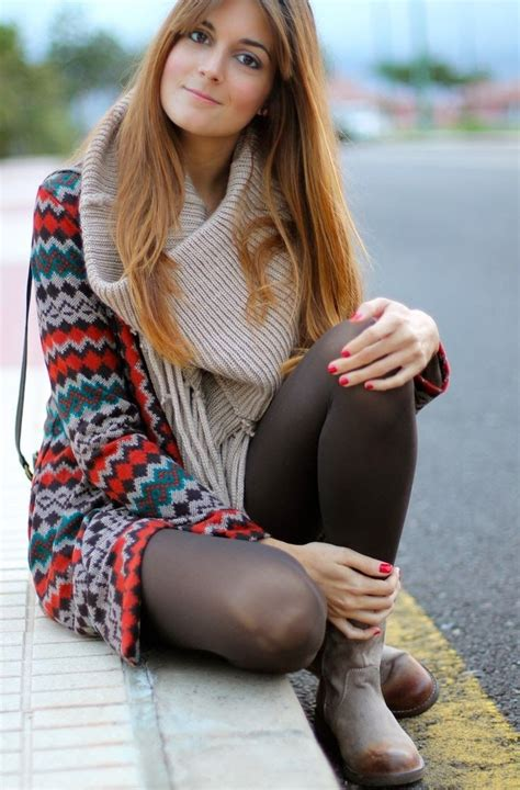 Is Wearing A by Fashion Style Tips And Tricks On How To Wear Tights