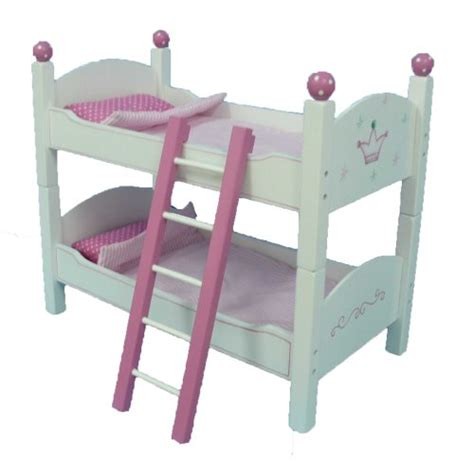 18 Inch Doll Furniture Cheap by Save On 18 Inch Doll Wish Crown Bunk Bed Furniture Beds