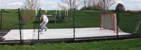 backyard roller hockey rink backyard inline hockey rink outdoor furniture design and
