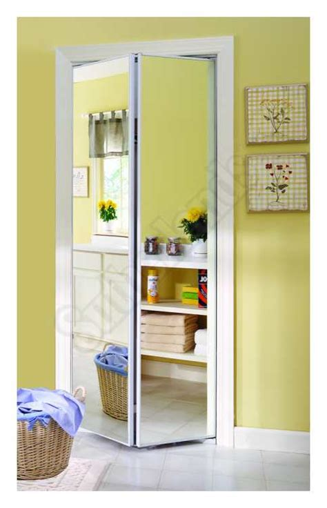 Home Decor Innovations Closet Doors by Home Decor Innovations 24 3863 Accent Mirror Bifold Door