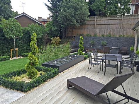 patio landscaping designs new contemporary gardens roger gladwell garden design