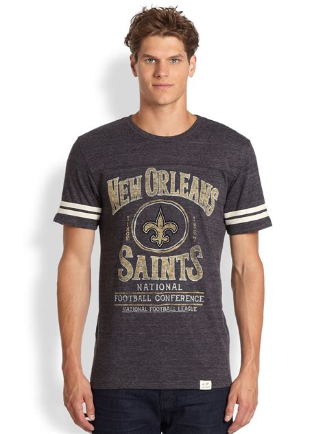 product review american crew classic gray shoo cool junk food new orleans saints crew neck knit t shirt in