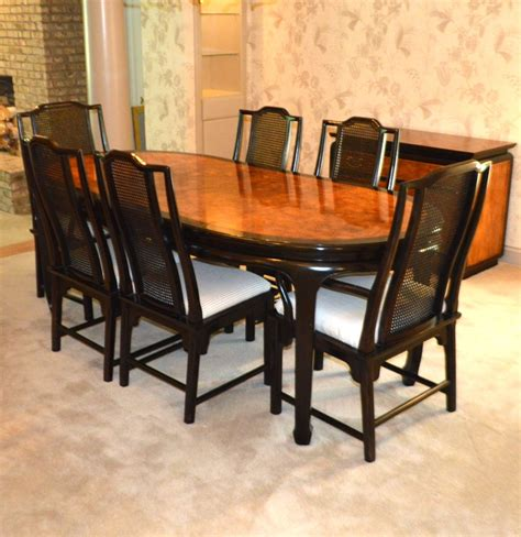 century furniture asian inspired dining table