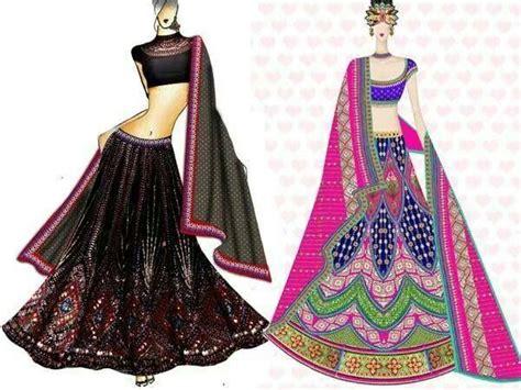 fashion illustration in india 91 best images about indian wear sketches on ux ui designer manish malhotra