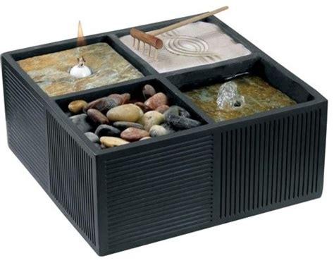zen rock garden table fountain kenroy home 50004brz tranquila zen themed tabletop