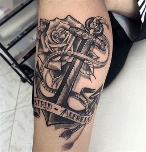 60 latest anchor tattoos collection
