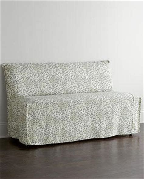lee industries banquette lee industries washed leopard banquette i horchow