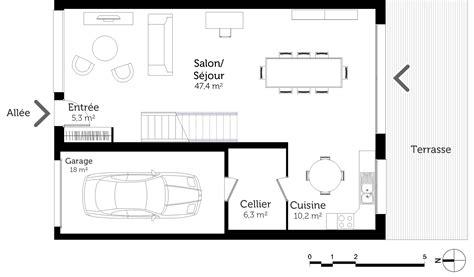Plan Maison étage 4 Chambres 4289 by Plan De Maison 4 Chambres Avec 201 Tage Ventana