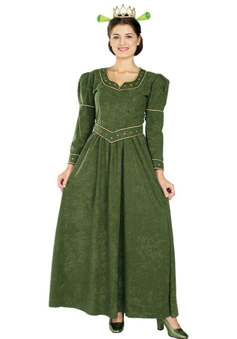Dress Fiona fiona costume deluxe shrek fancy dress escapade 174 uk