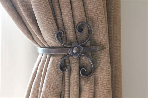 Drapery Holdback Custom Holdbacks Traditional Curtain Rods Toronto