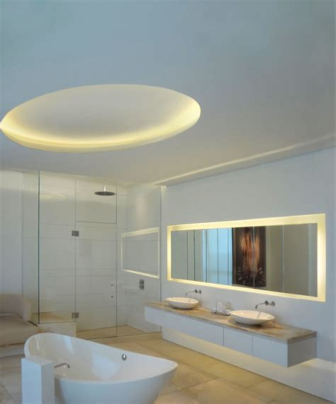 modern bathroom lighting for a more inviting bathroom decohoms led bathroom lighting idea led soft lights by edge lighting edge lighting bath and