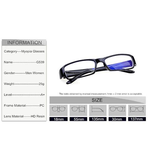 Kacamata Lensa 1 kacamata myiopia lensa minus 1 5 black jakartanotebook
