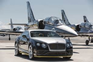 Breitling Bentley Continental Gt Breitling Jet Team Themed Bentley Continental Gt Speeds