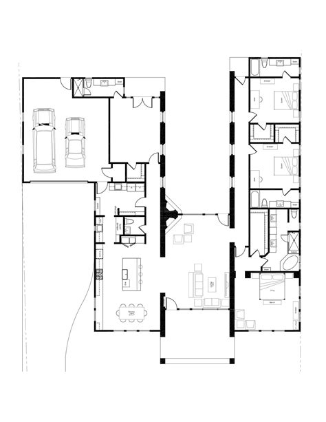 mid century modern homes floor plans house design plans
