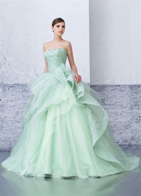 25  best ideas about Mint Green Wedding Dress on Pinterest