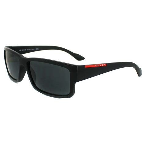 sporty sunglasses prada sport sunglasses 05os 1ab1a1 black grey