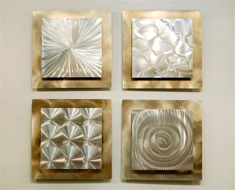 gold and silver home decor silver gold modern metal wall sculpture contemporary