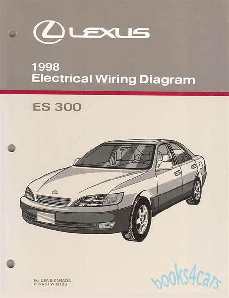 old cars and repair manuals free 1998 lexus ls lane departure warning shop manual es300 1998 lexus book electrical service repair wiring diagram ebay