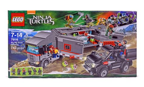 Lego Turtles 79116 Big Rig Snow Getaway big rig snow getaway lego set 79116 1 nisb building