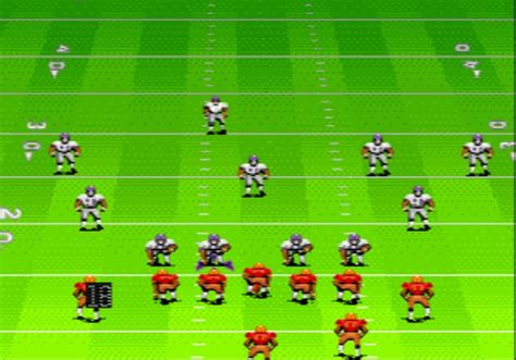 sega genesis football daniel vol 4 photos madden football series