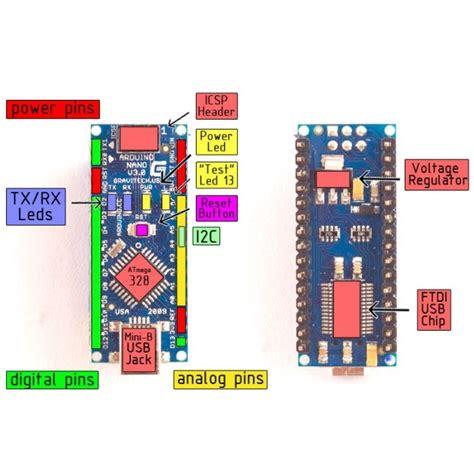 Arduino Nano V3 0 Atmega328 Baru arduino nano v3 0 atmega328 blue jakartanotebook