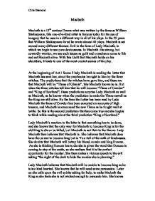 Mba 6941 Unit V Scholarly Activity by Macbeth Student Essays Summary Enjoying Quot Macbeth Quot By