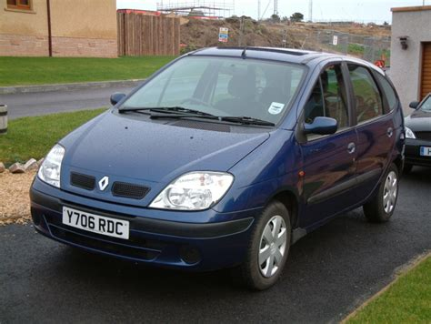 renault scenic 2001 current cars