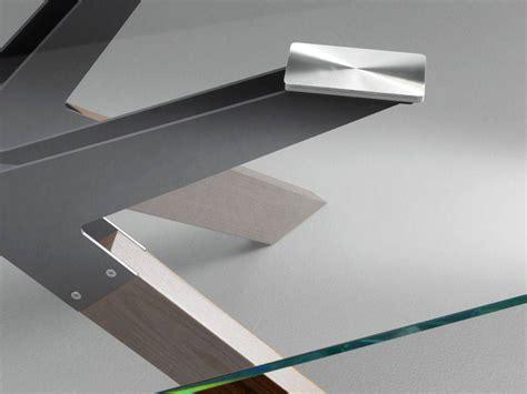 tavolo piano vetro tavolo con piano in vetro steel