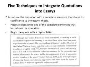Essay Quotations by Paraphrasing Summarizing And Quoting Information