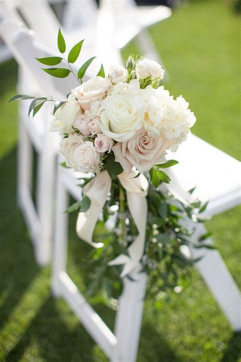 Wedding Aisle Side by Bridal Hair Up Floral Designs Floral And Wedding